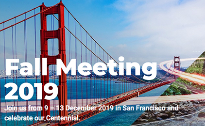 QUAKELOGIC WILL BE AT AGU 2019
